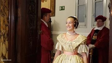 Proclamación de las falleras mayores de Valencia 2018 Rocío Gil y Daniela Gómez (117)