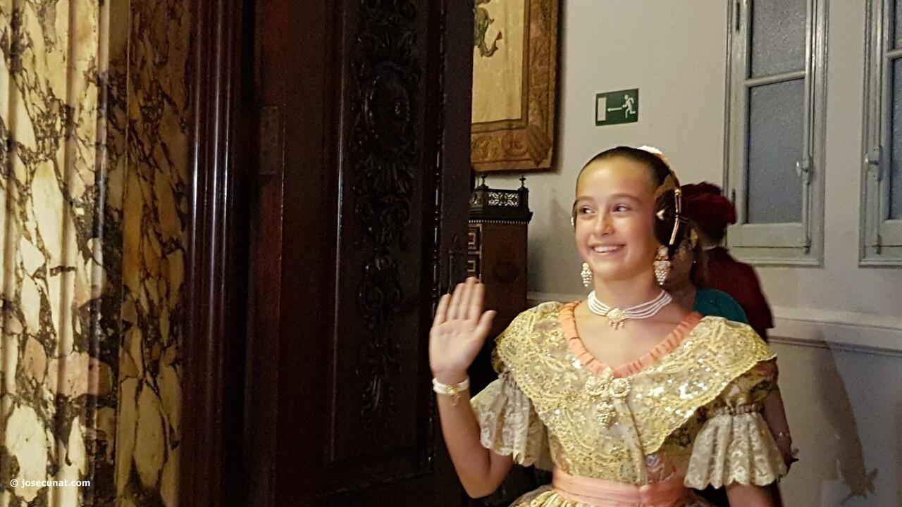 Proclamación de las falleras mayores de Valencia 2018 Rocío Gil y Daniela Gómez (120)
