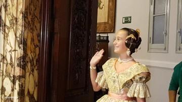 Proclamación de las falleras mayores de Valencia 2018 Rocío Gil y Daniela Gómez (123)