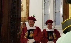 Proclamación de las falleras mayores de Valencia 2018 Rocío Gil y Daniela Gómez (134)