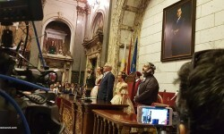 Proclamación de las falleras mayores de Valencia 2018 Rocío Gil y Daniela Gómez (157)