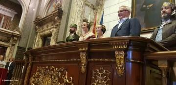 Proclamación de las falleras mayores de Valencia 2018 Rocío Gil y Daniela Gómez (167)