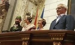 Proclamación de las falleras mayores de Valencia 2018 Rocío Gil y Daniela Gómez (170)