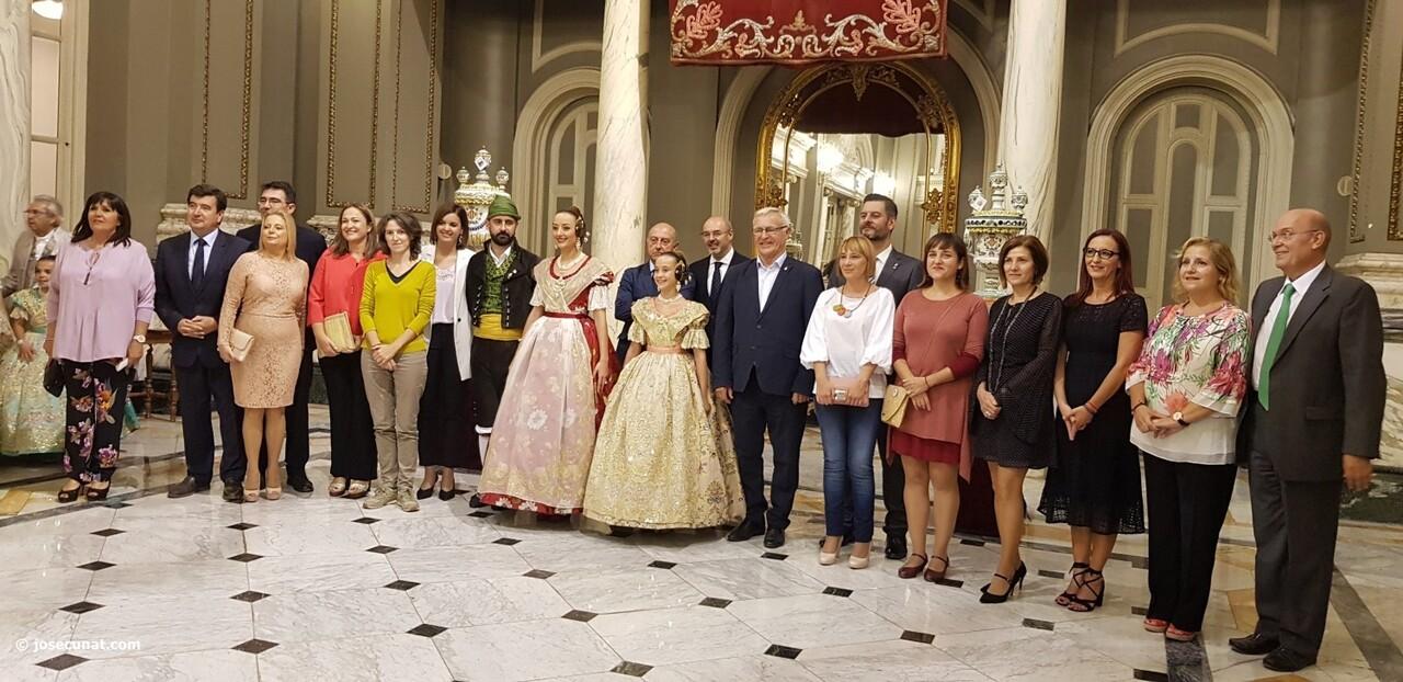 Proclamación de las falleras mayores de Valencia 2018 Rocío Gil y Daniela Gómez (201)