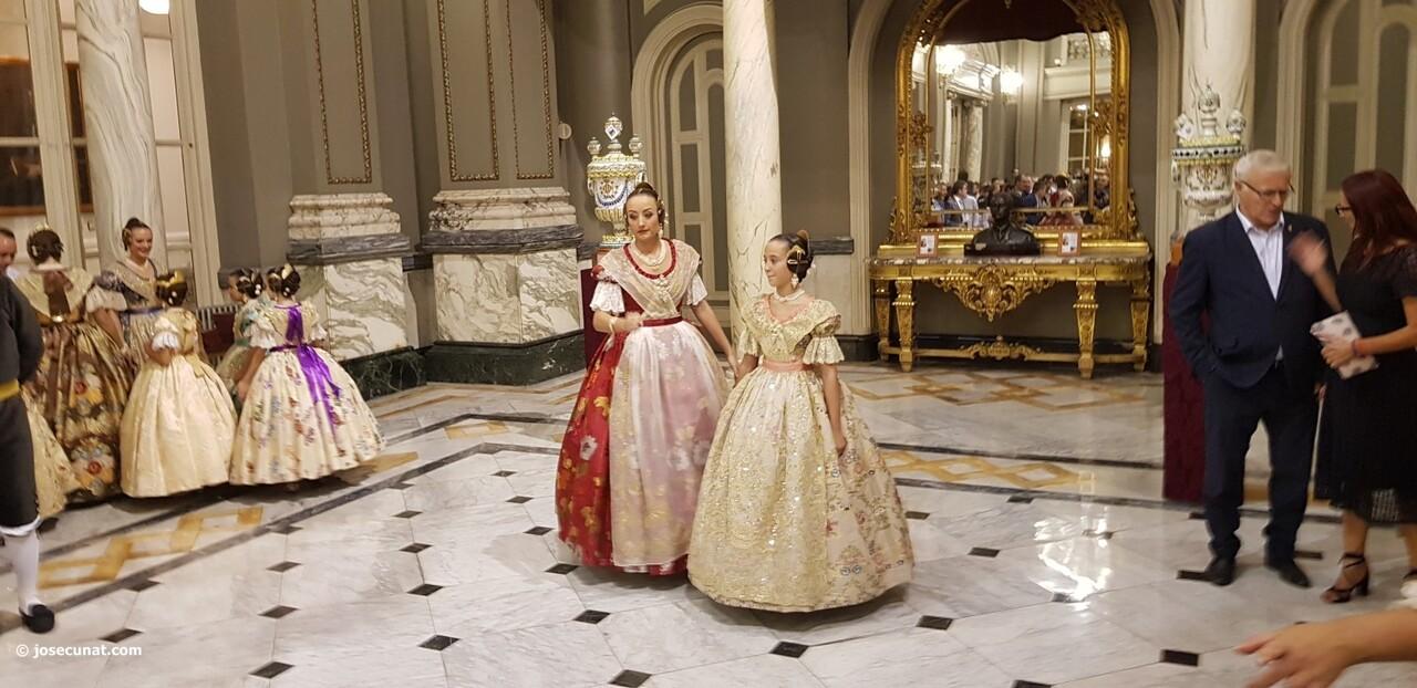 Proclamación de las falleras mayores de Valencia 2018 Rocío Gil y Daniela Gómez (207)