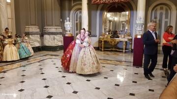 Proclamación de las falleras mayores de Valencia 2018 Rocío Gil y Daniela Gómez (210)