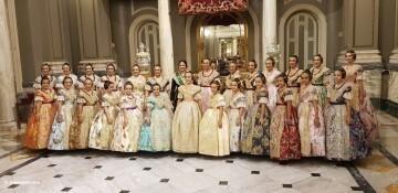 Proclamación de las falleras mayores de Valencia 2018 Rocío Gil y Daniela Gómez (260)
