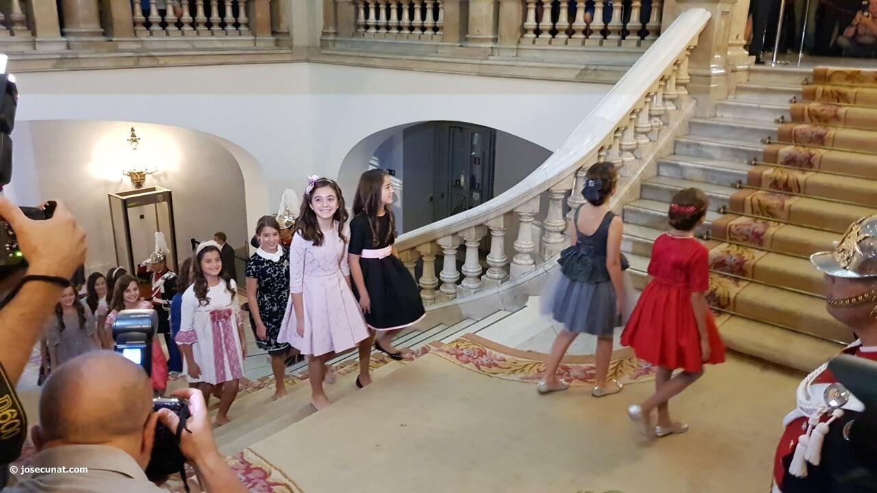 Proclamación de las falleras mayores de Valencia 2018 Rocío Gil y Daniela Gómez (27)
