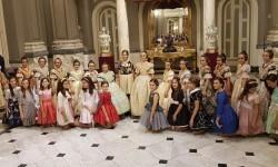 Proclamación de las falleras mayores de Valencia 2018 Rocío Gil y Daniela Gómez (285)