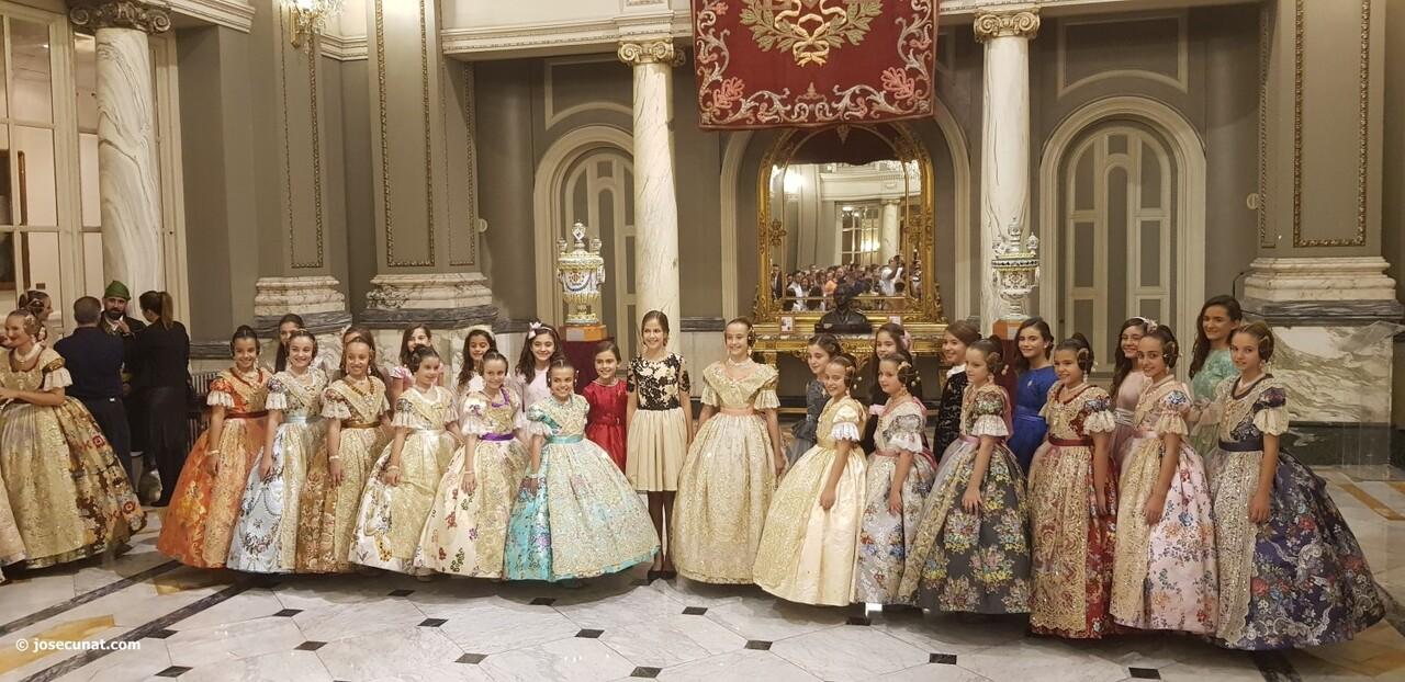 Proclamación de las falleras mayores de Valencia 2018 Rocío Gil y Daniela Gómez (296)