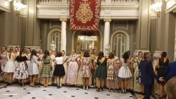 Proclamación de las falleras mayores de Valencia 2018 Rocío Gil y Daniela Gómez (313)