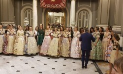 Proclamación de las falleras mayores de Valencia 2018 Rocío Gil y Daniela Gómez (317)