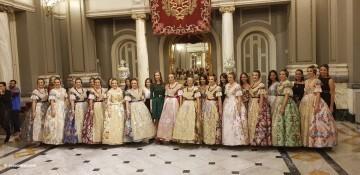 Proclamación de las falleras mayores de Valencia 2018 Rocío Gil y Daniela Gómez (322)