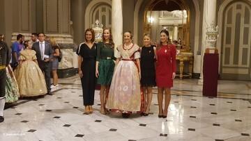 Proclamación de las falleras mayores de Valencia 2018 Rocío Gil y Daniela Gómez (374)