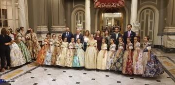 Proclamación de las falleras mayores de Valencia 2018 Rocío Gil y Daniela Gómez (387)