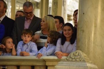 Proclamación de las falleras mayores de Valencia 2018 Rocío Gil y Daniela Gómez (430)