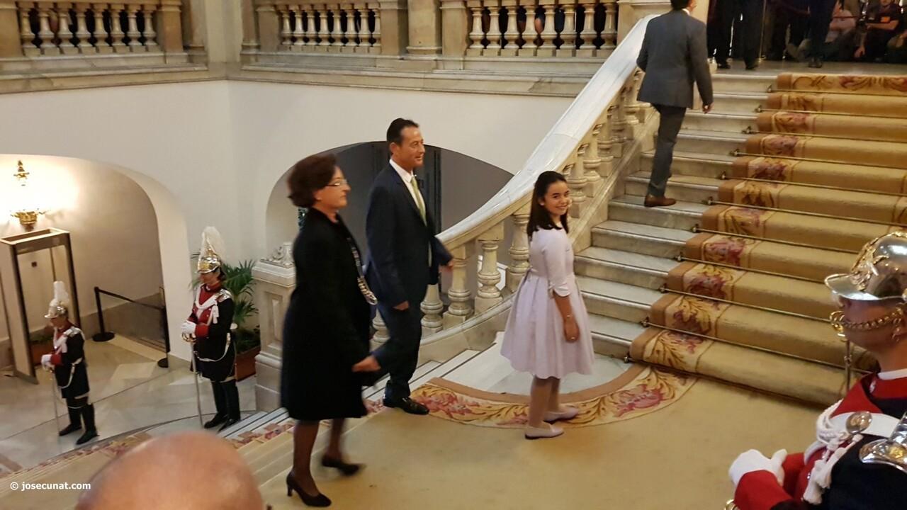 Proclamación de las falleras mayores de Valencia 2018 Rocío Gil y Daniela Gómez (5)