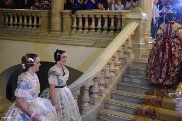Proclamación de las falleras mayores de Valencia 2018 Rocío Gil y Daniela Gómez (508)