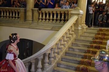 Proclamación de las falleras mayores de Valencia 2018 Rocío Gil y Daniela Gómez (518)