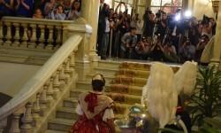 Proclamación de las falleras mayores de Valencia 2018 Rocío Gil y Daniela Gómez (526)