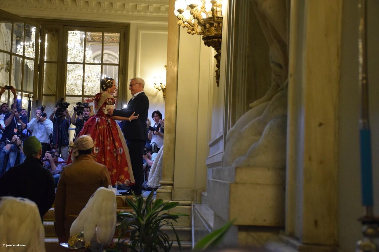 Proclamación de las falleras mayores de Valencia 2018 Rocío Gil y Daniela Gómez (530)