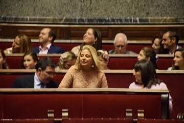 Proclamación de las falleras mayores de Valencia 2018 Rocío Gil y Daniela Gómez (543)