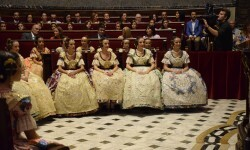 Proclamación de las falleras mayores de Valencia 2018 Rocío Gil y Daniela Gómez (549)