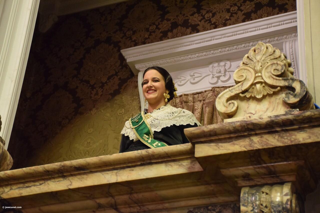 Proclamación de las falleras mayores de Valencia 2018 Rocío Gil y Daniela Gómez (556)