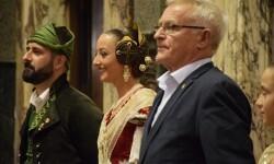 Proclamación de las falleras mayores de Valencia 2018 Rocío Gil y Daniela Gómez (565)