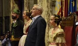 Proclamación de las falleras mayores de Valencia 2018 Rocío Gil y Daniela Gómez (578)