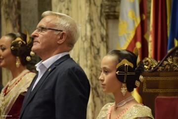 Proclamación de las falleras mayores de Valencia 2018 Rocío Gil y Daniela Gómez (580)