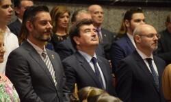 Proclamación de las falleras mayores de Valencia 2018 Rocío Gil y Daniela Gómez (591)