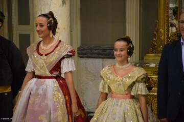 Proclamación de las falleras mayores de Valencia 2018 Rocío Gil y Daniela Gómez (632)