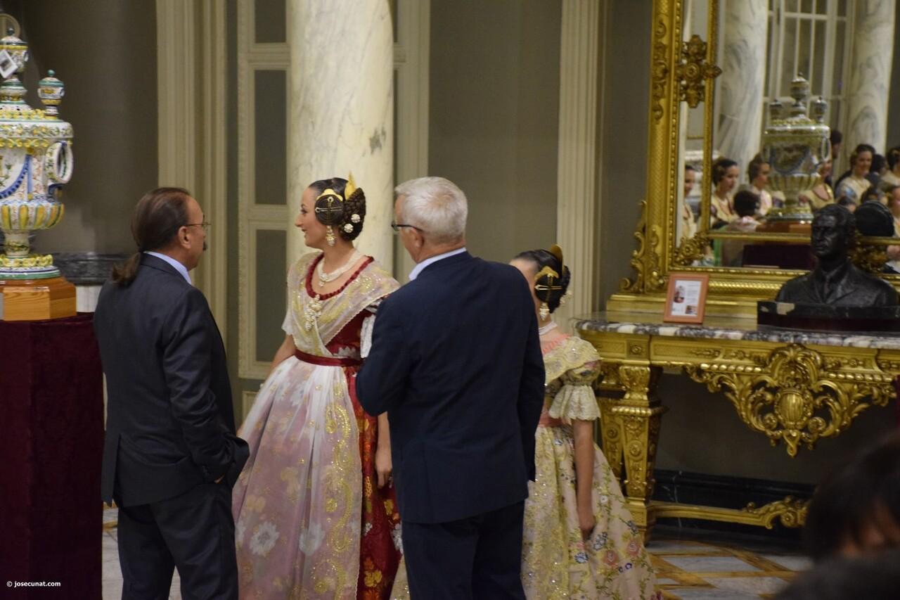 Proclamación de las falleras mayores de Valencia 2018 Rocío Gil y Daniela Gómez (638)