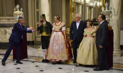 Proclamación de las falleras mayores de Valencia 2018 Rocío Gil y Daniela Gómez (658)