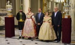 Proclamación de las falleras mayores de Valencia 2018 Rocío Gil y Daniela Gómez (662)