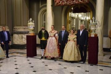 Proclamación de las falleras mayores de Valencia 2018 Rocío Gil y Daniela Gómez (668)
