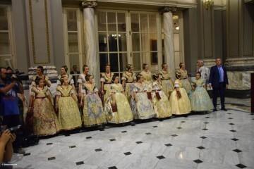 Proclamación de las falleras mayores de Valencia 2018 Rocío Gil y Daniela Gómez (675)
