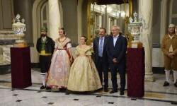 Proclamación de las falleras mayores de Valencia 2018 Rocío Gil y Daniela Gómez (686)