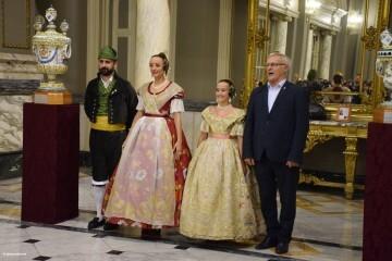 Proclamación de las falleras mayores de Valencia 2018 Rocío Gil y Daniela Gómez (695)