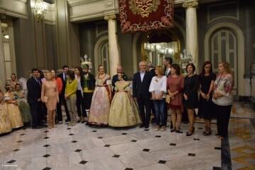 Proclamación de las falleras mayores de Valencia 2018 Rocío Gil y Daniela Gómez (697)