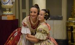 Proclamación de las falleras mayores de Valencia 2018 Rocío Gil y Daniela Gómez (719)