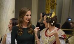 Proclamación de las falleras mayores de Valencia 2018 Rocío Gil y Daniela Gómez (770)