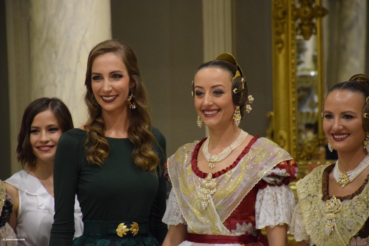 Proclamación de las falleras mayores de Valencia 2018 Rocío Gil y Daniela Gómez (782)