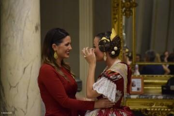 Proclamación de las falleras mayores de Valencia 2018 Rocío Gil y Daniela Gómez (816)