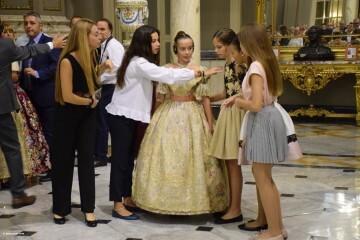 Proclamación de las falleras mayores de Valencia 2018 Rocío Gil y Daniela Gómez (825)