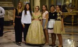 Proclamación de las falleras mayores de Valencia 2018 Rocío Gil y Daniela Gómez (828)