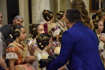 Proclamación de las falleras mayores de Valencia 2018 Rocío Gil y Daniela Gómez (833)
