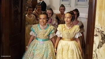 Proclamación de las falleras mayores de Valencia 2018 Rocío Gil y Daniela Gómez (84)