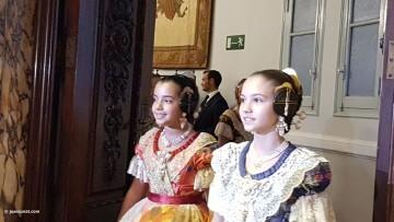 Proclamación de las falleras mayores de Valencia 2018 Rocío Gil y Daniela Gómez (95)